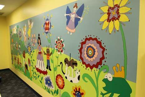 Community Garden Mural | Garden Ideas | Pinterest | Garden mural ...