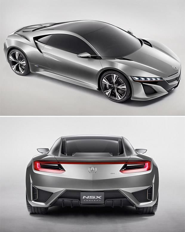 Acura NSX To Return As A HYBRID