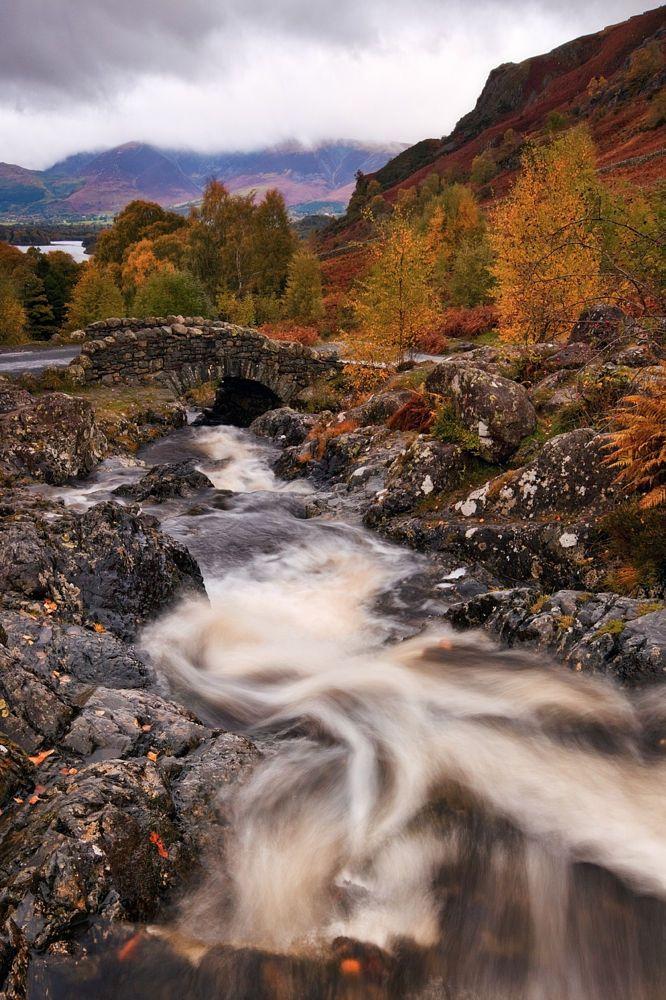 Autumn at Ashness Bridge by Alun Davies on 500px