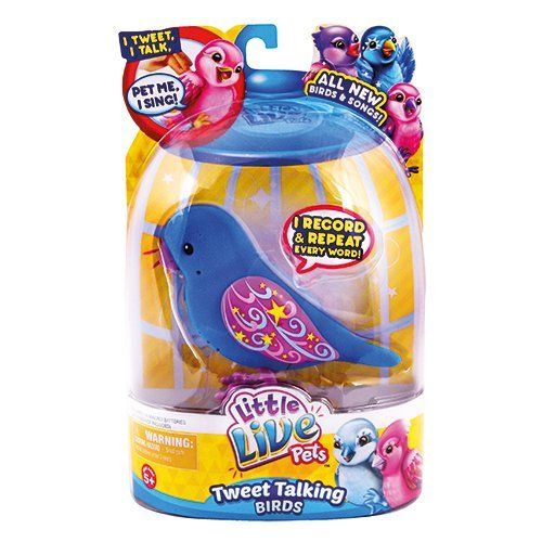 Little Live Pets S2 Bird Single Pack Starshine Most Wanted Christmas Toys Little Live Pets Bird Toys Pets