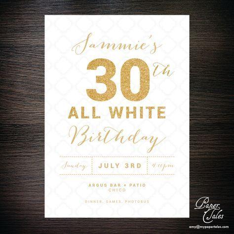 Einladungskarte 30 Geburtstag Text 40th Birthday Ideas In 2018