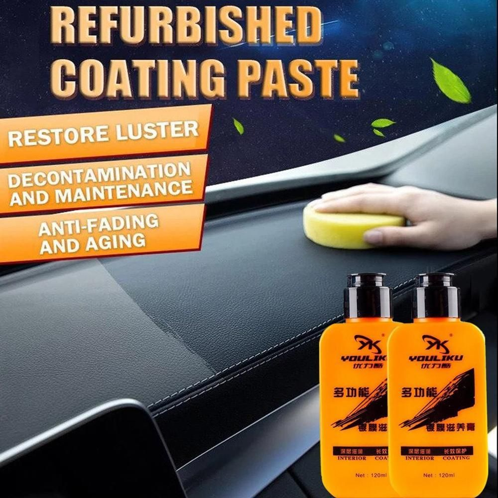 Auto & Leather Renovated Coating Paste Maintenance
