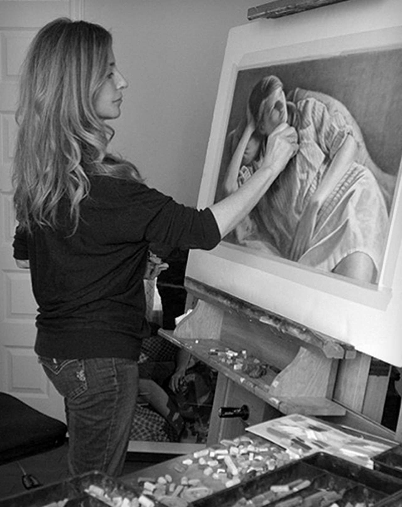 danielle richards art | The Art Edge: Interview with artist Danielle Richard - Part 2