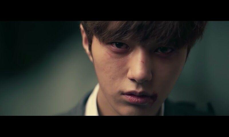Sabe quando seu idol chora em um MV e vc chora junto? Foi eu nessa cena #TheEye #Infinite