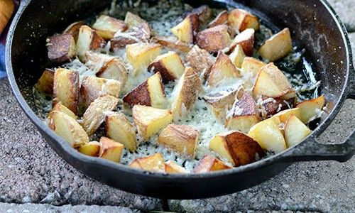 Parmesan Potatoes – Feed Your Soul Too