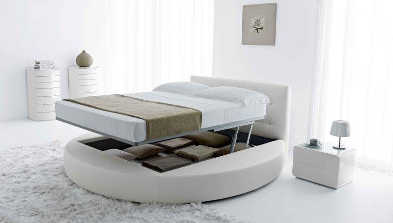 Lit Rond Design Pour La Chambre Adulte Moderne En  Idees Superbes Lofts And Bedrooms