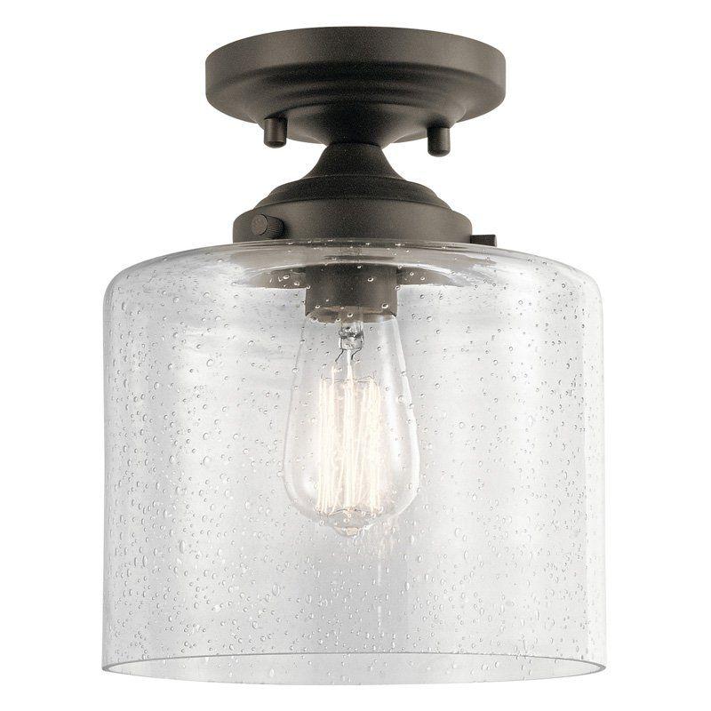Kichler Winslow 44033 Semi Flush Light Bronze Ceiling Lights Flush Mount Ceiling Lights Flush Mount Lighting