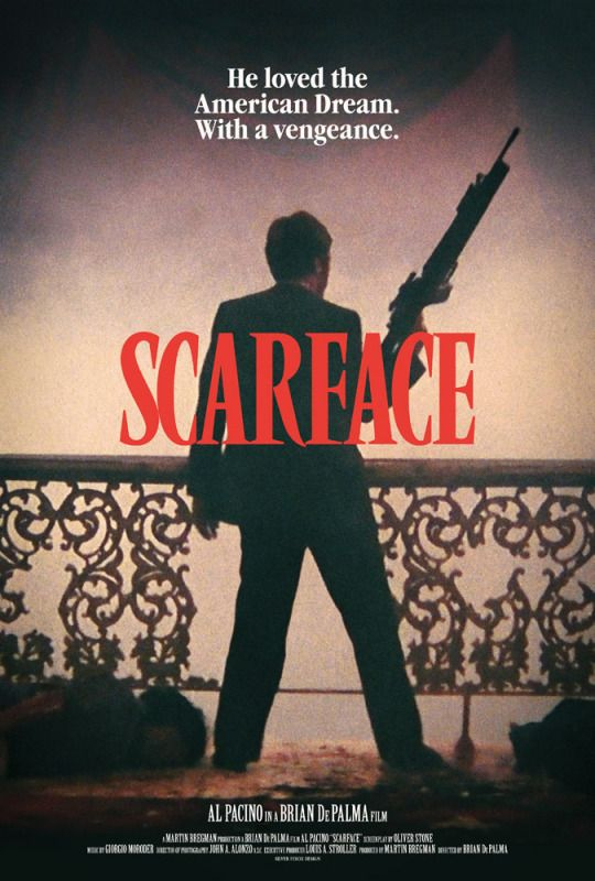 Movie Poster Movement Scarface Movie Gangster Movies Scarface