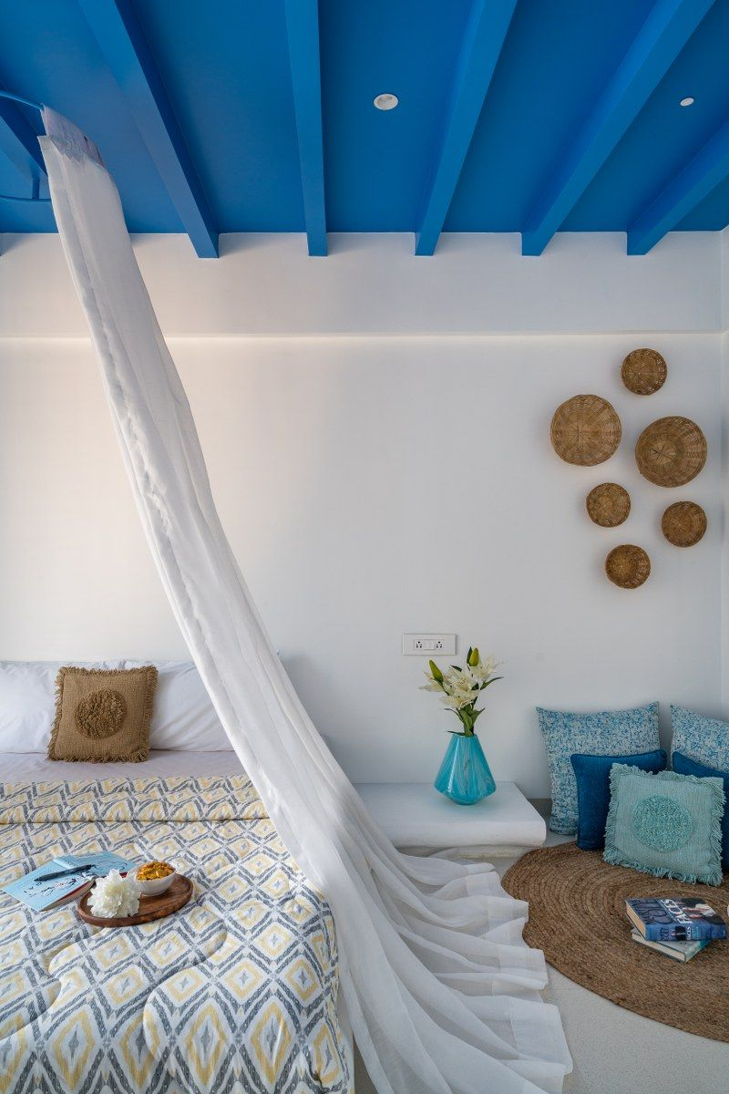 Photo of Santorini Style Themed Penthouse Interior In Pune | Between Walls – The Architects Diary