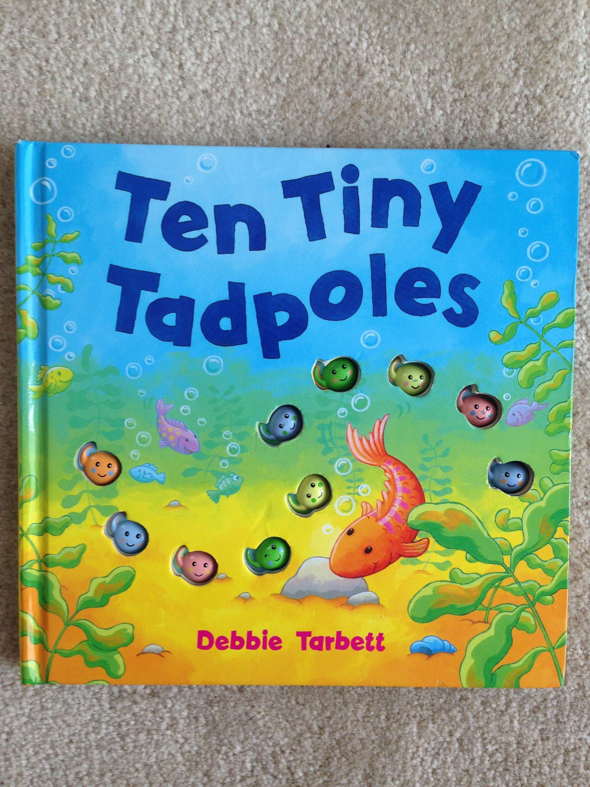Ten Tiny Tadpoles Books That Make A Splash Teaching Counting Books Ocean Themes