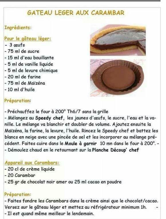 Gateau au cacao en poudre thermomix