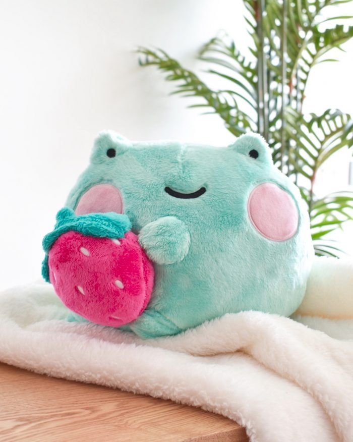 Ebbo Strawberry Plush | Shopzoki