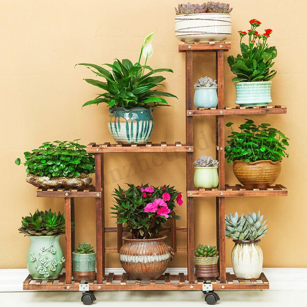 Plant Stands Diy Outdoor Flower Pots
