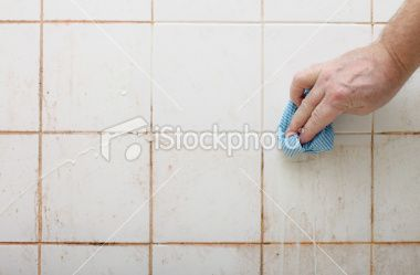 Inexpensive Method In Keeping The Bathroom Wall Tiles Clean Bizcovering Clean Tile Clean Bathroom Grout Clean Tile Grout