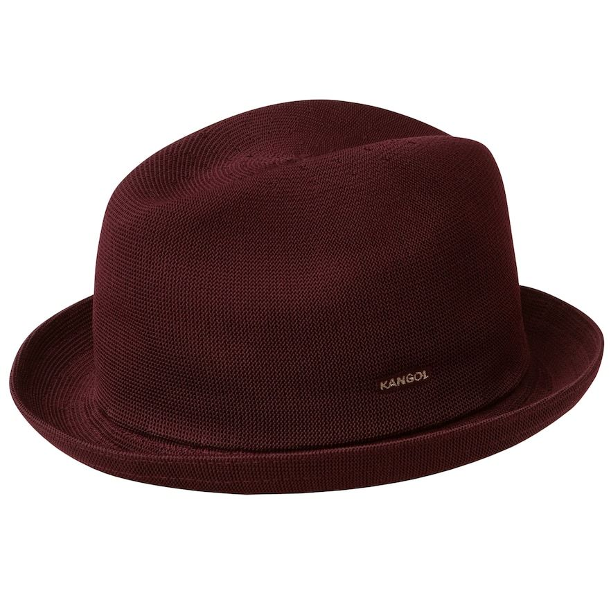 a3bbfb4cef9de Men's Kangol Tropic Player Fedora, Size: Large, Dark Red in 2019 ...