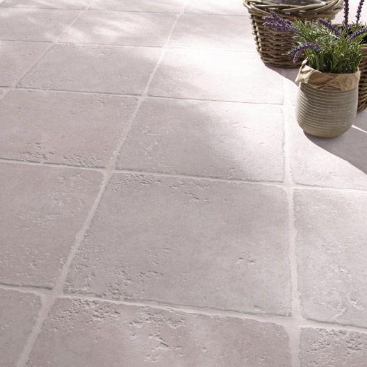 Carrelage Exterieur Toscane En Gres Cerame Emaille Gris 32 5 X 32 5 Cm Carrelage Terrasse Exterieur Carrelage Exterieur Et Carrelage Terrasse