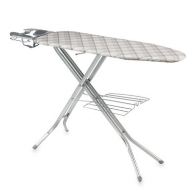Polder 48 Inch X 15 Inch Deluxe Ironing Station With Iron Rest