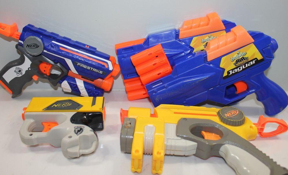 Nerf Foam Dart Gun Lot of 5