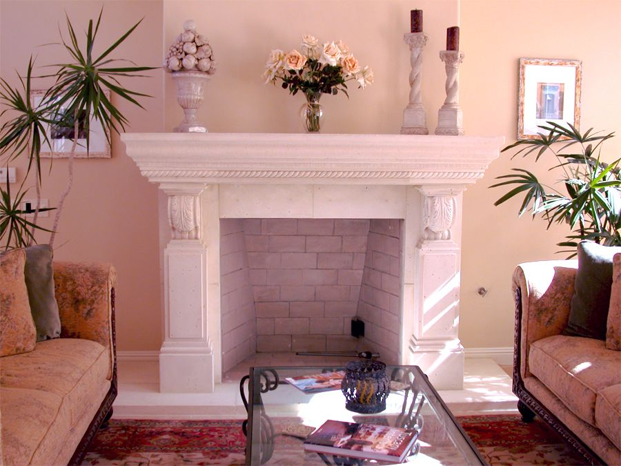 Provence Fireplace Surround- from Home & Mantel www.homeandmantel ...