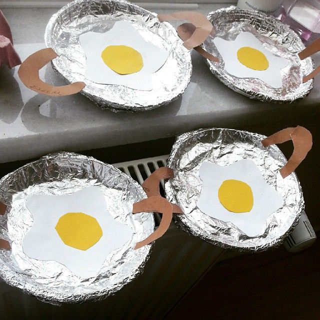 Fried Egg Craft Idea 3 Crafts And Worksheets For Preschool