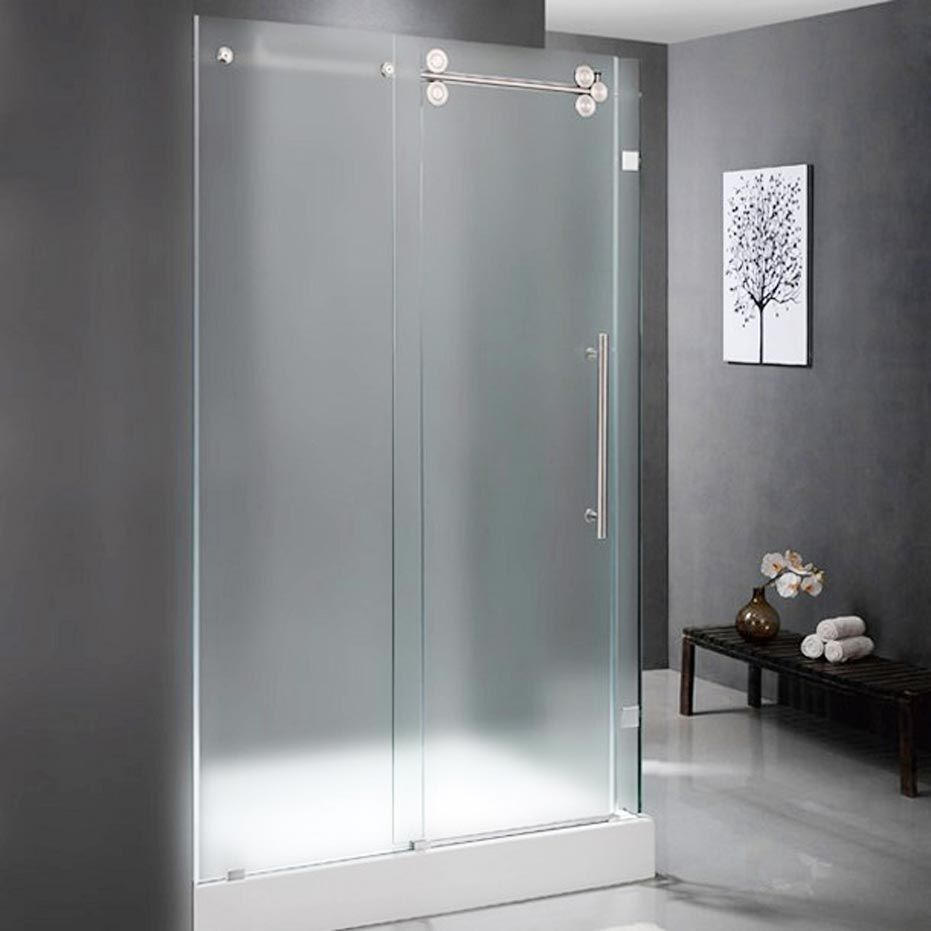 Aqua Glass Shower Doors With Images Glass Shower Doors Glass