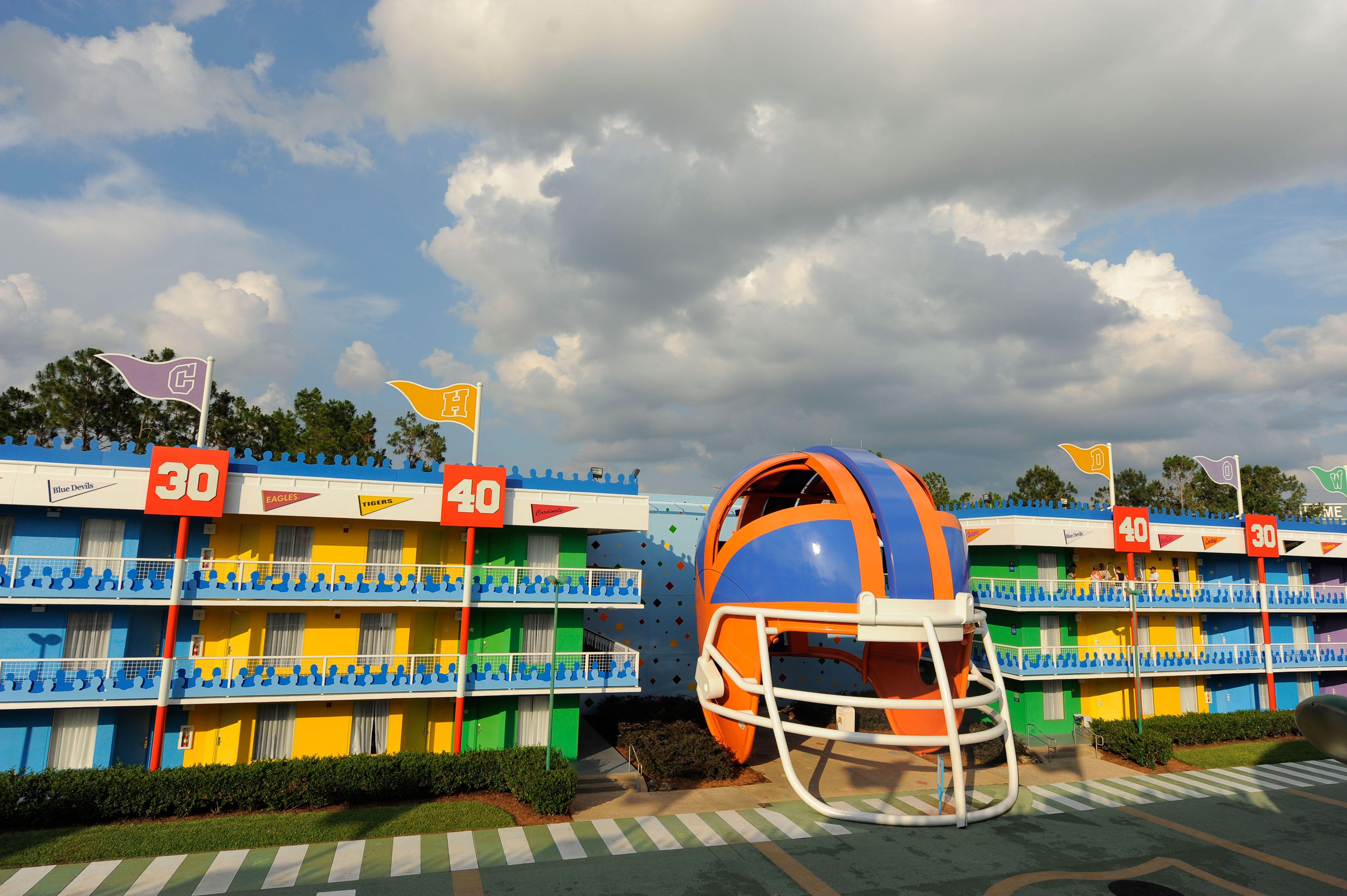 Disney Resort Hotels, Disney's AllStar Sports Resort