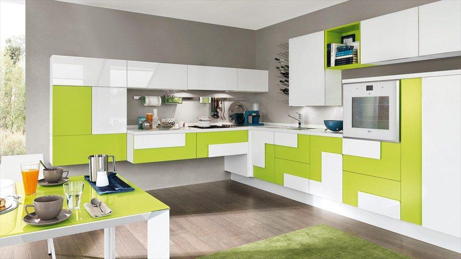 Cucine Lube moderna modello Creativa #gardiniperarredare #kitchen ...