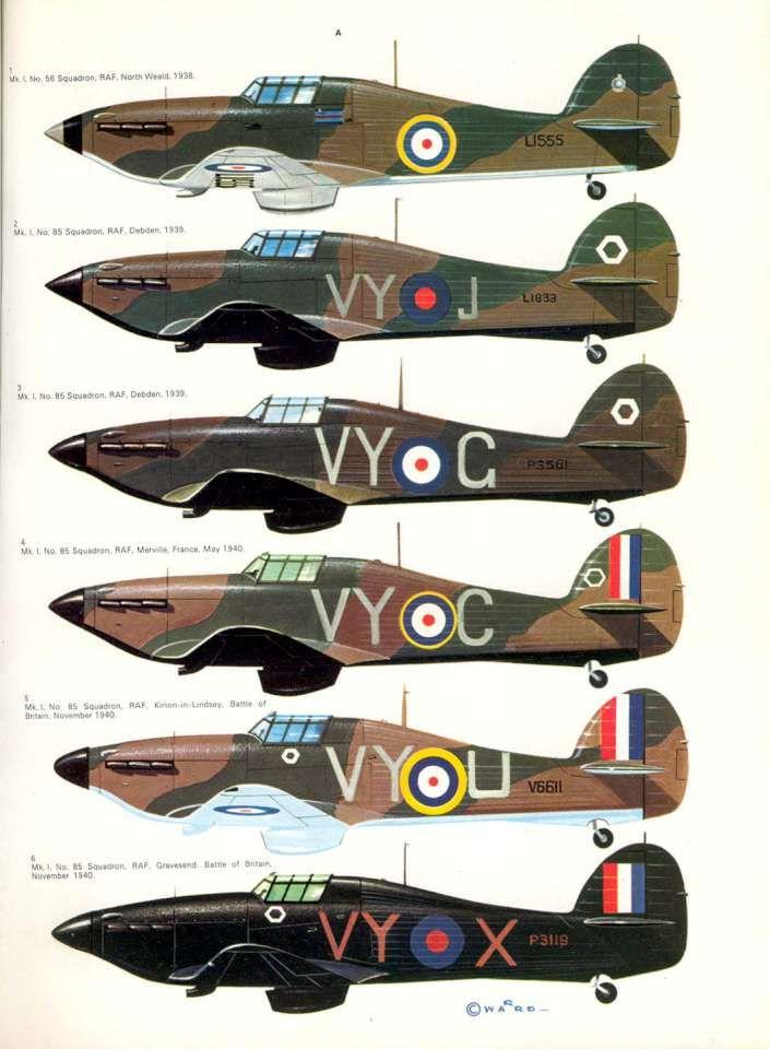 24 Hawker Hurricane