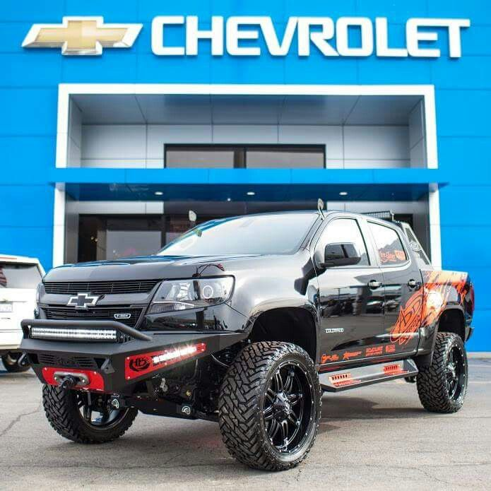 Decked Out Colorado Chevy Colorado Chevy Truck Bumpers