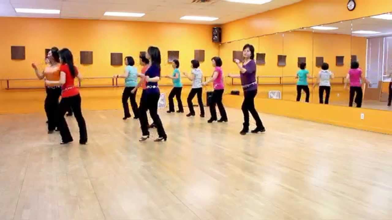 Turn The Beat Around - Line Dance (Dance & Teach in English & 中文) | Line dancing. Country line dancing. Shut up and dance