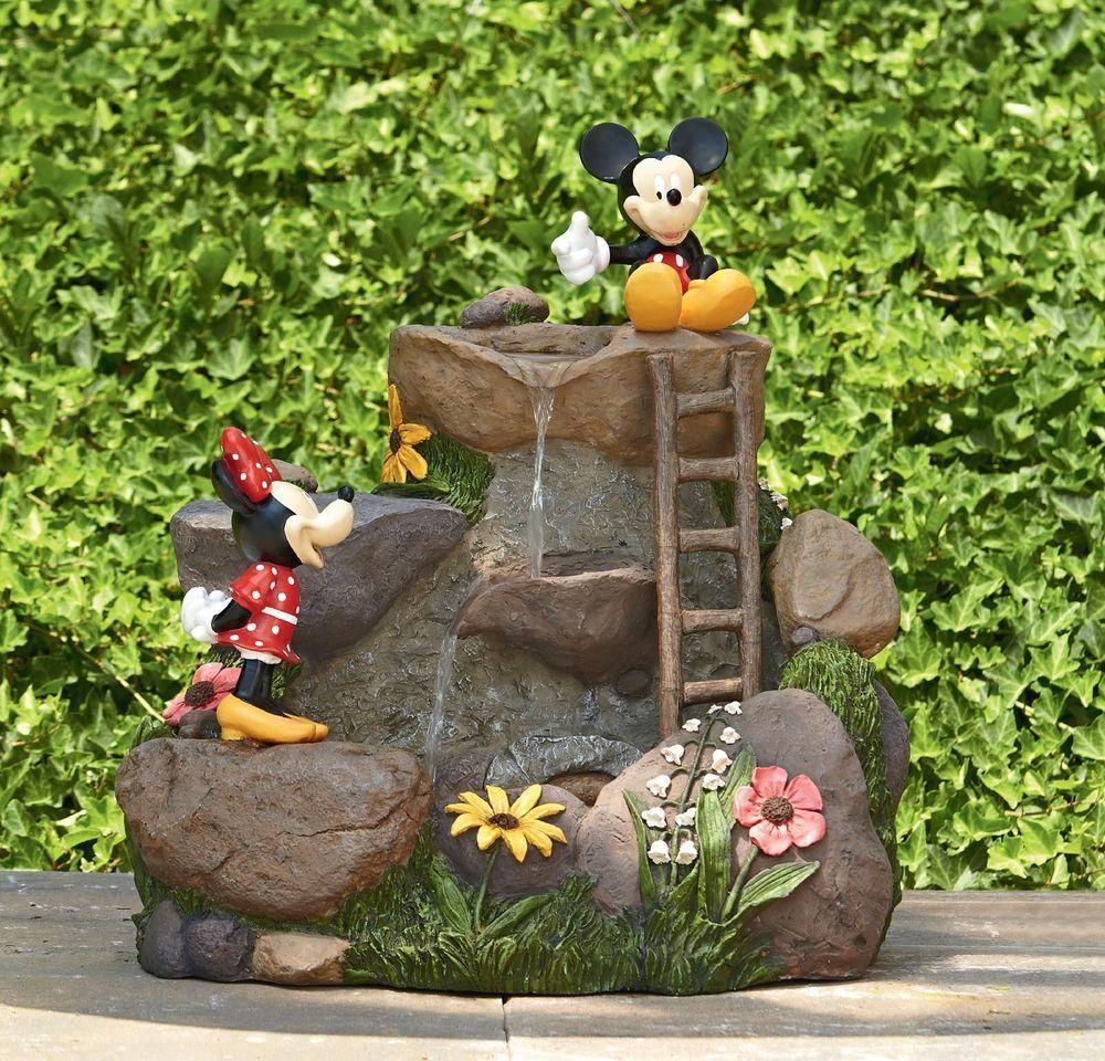 Disney - Minnie & Mickey garden fountain 22\