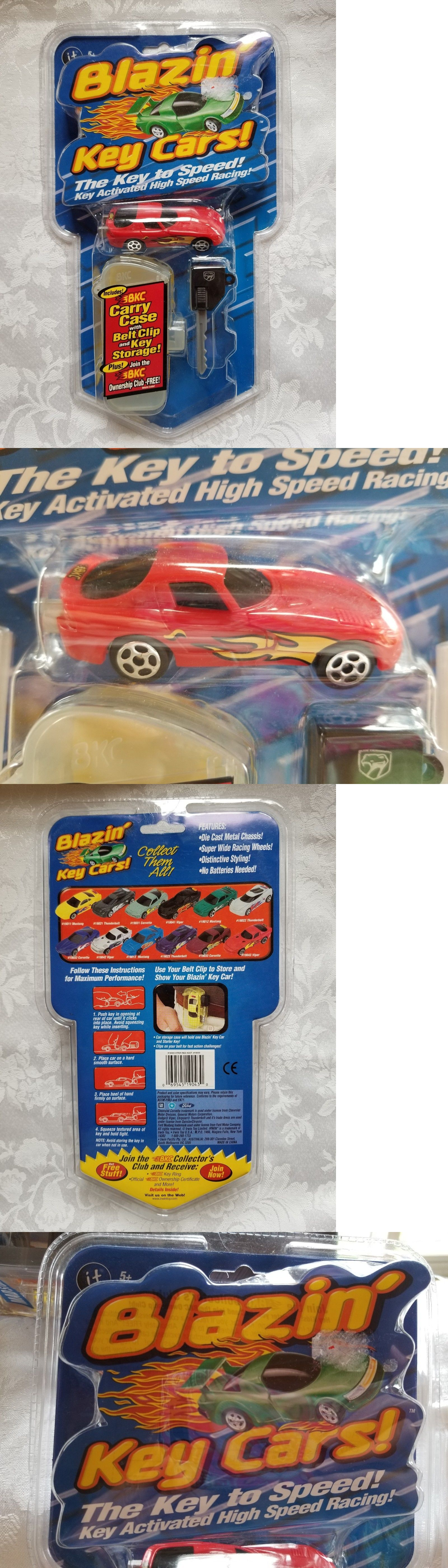 Toys car keys  Blazinu Key Cars Irwin Toys Red Dodge Viper with Carry Case Belt