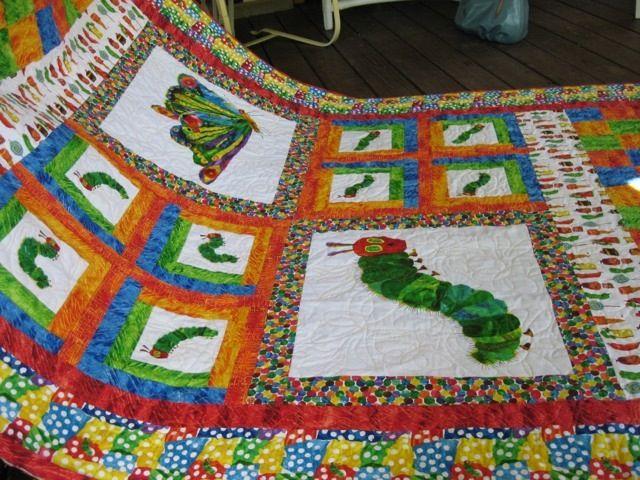 Another caterpillar quilt