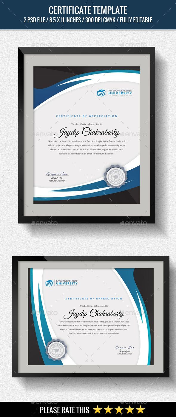 Pin By Johnathan Woody On Graphic Design Pinterest Certificate