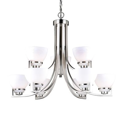 Cascadia Lighting Metropolis 9-Light Chandelier