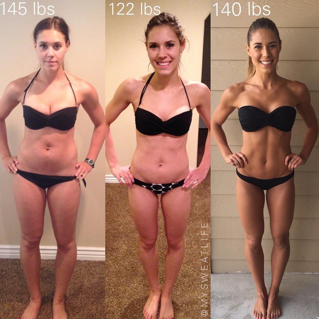 la motivazione per perdere peso prima e dopo