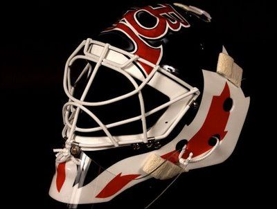 Classic Martin Brodeur Mask Cool Goalie Masks Goalie Mask New