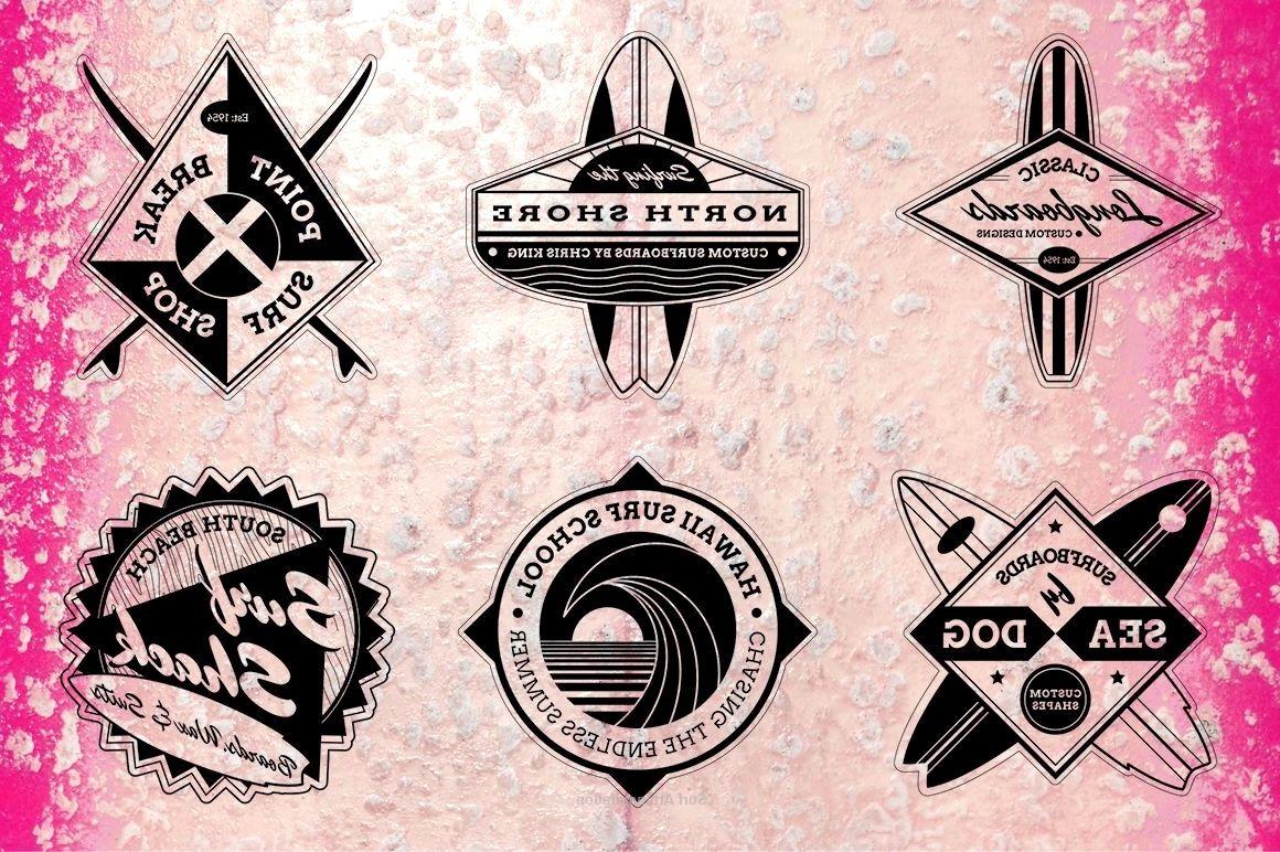logo maker in 2020 Surf art, Surf logo, Surfboard art