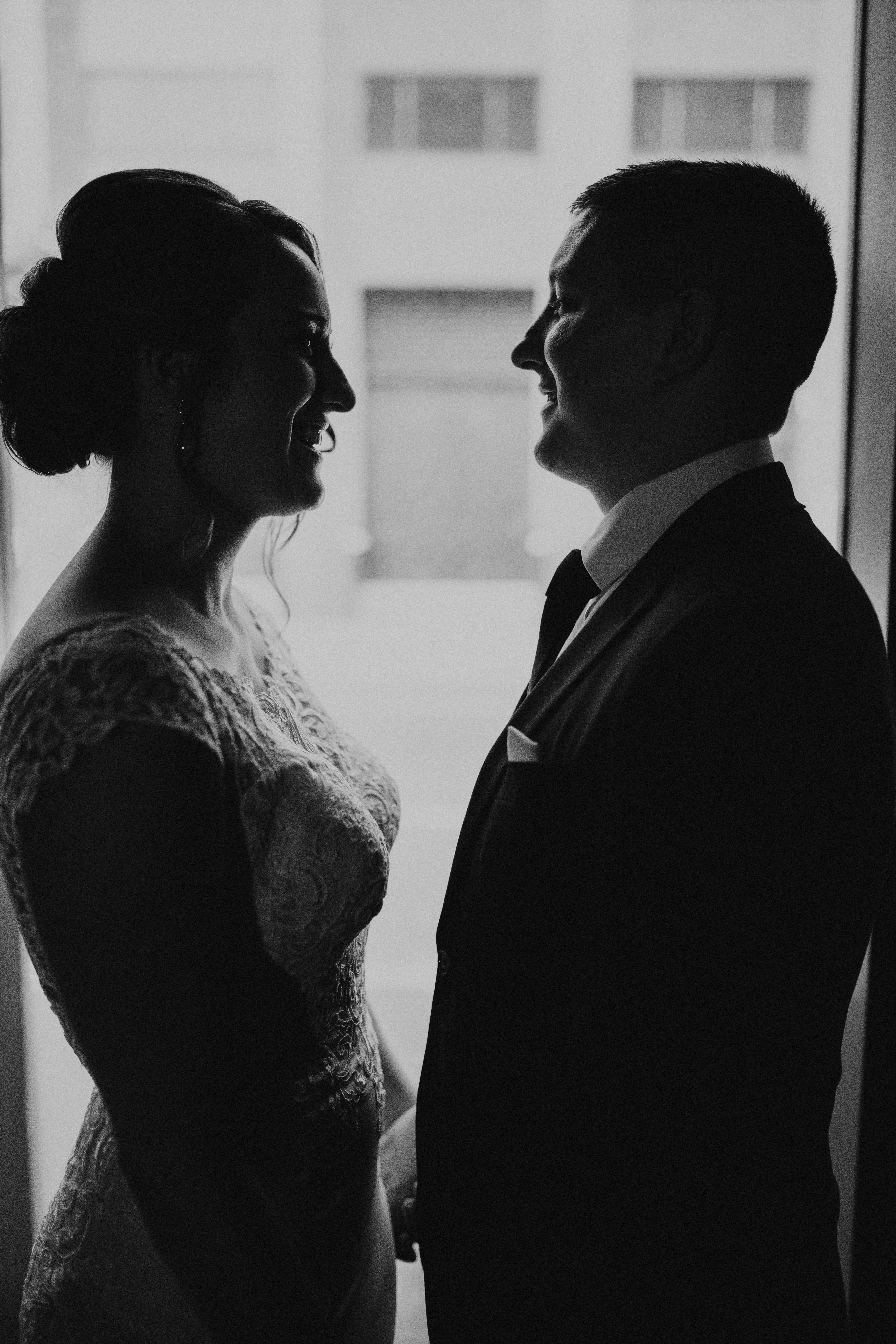 Moody Indoor Photography With Bride And Groom Wedding Day Portraits New Orleans Wedding Indoor Wedding Photos Wedding Photography Props Wedding Photo Pictures