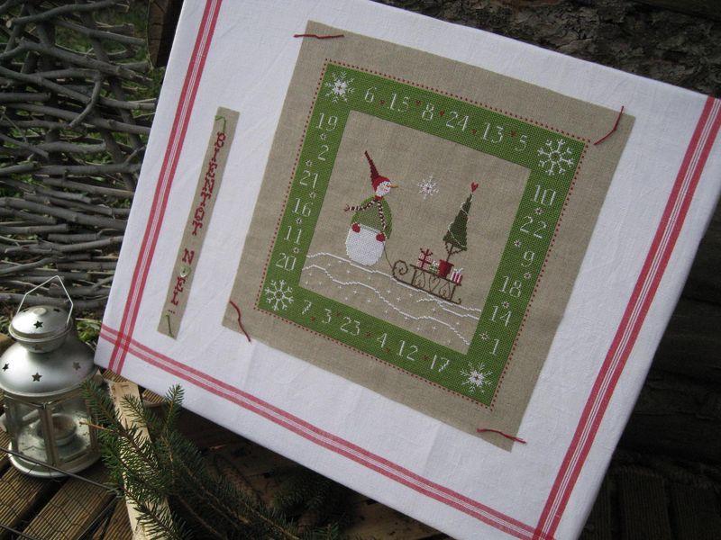 Je recommande cette photo | Point de croix noel, Noël couture, Point de croix
