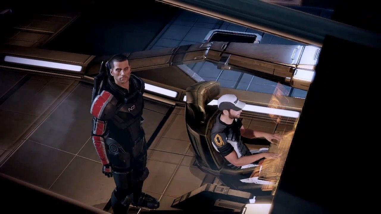 Mass Effect 1 Screenshots   Mass Effect 2: PS3 Launch Trailer Screenshots, screen capture