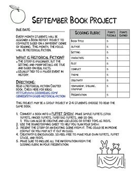 Freebie These Are Book Report Projects I Have Made To Cover