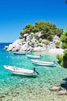 Punta rata is the most beautiful beach of Croatia and of Europe
