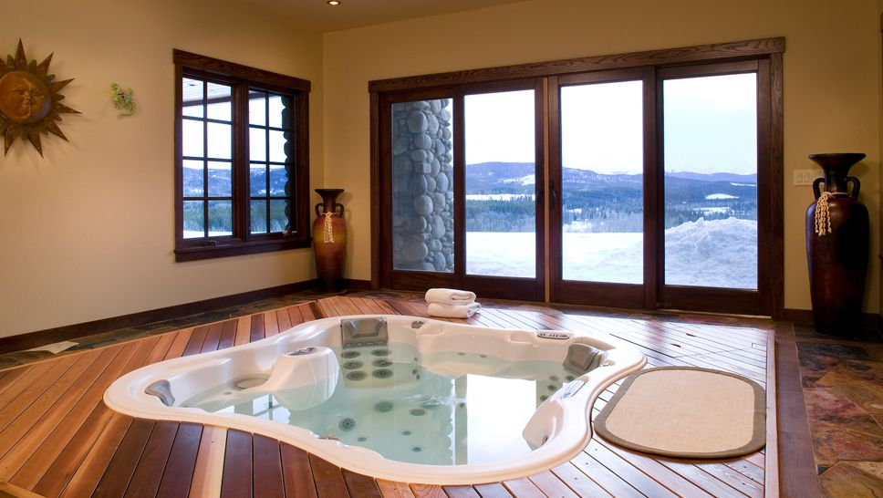 Galleries Of Excellence Taradar Fine Homes Hot Tub Room Indoor Hot Tub Inground Hot Tub