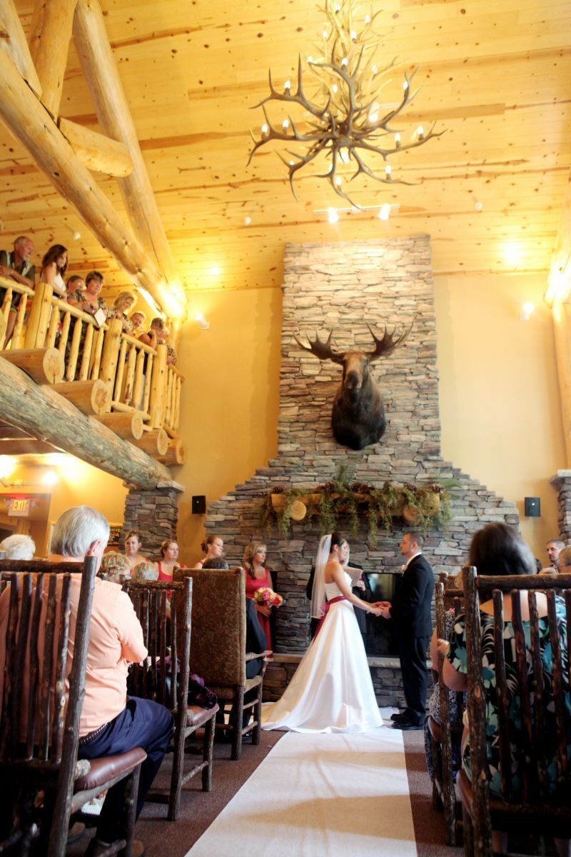 Banquet hall in crosslake weddings whitefish lodge