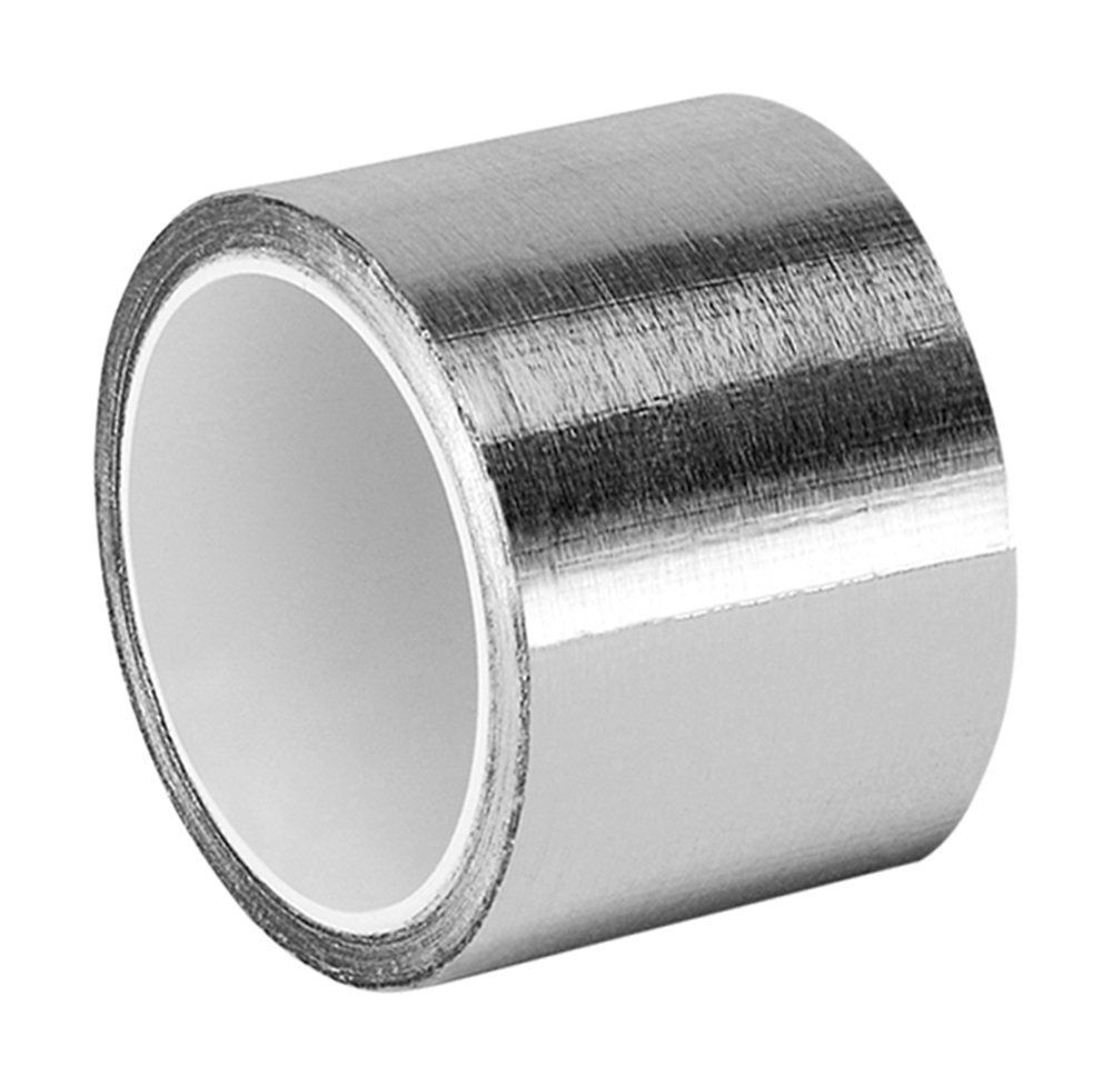Add On Item 3m 3311 Silver Aluminum Foil Tape 1in Width X 5yd Length 1 Roll 1 85 Amazon Foil Tape Silver Rubber Adhesive