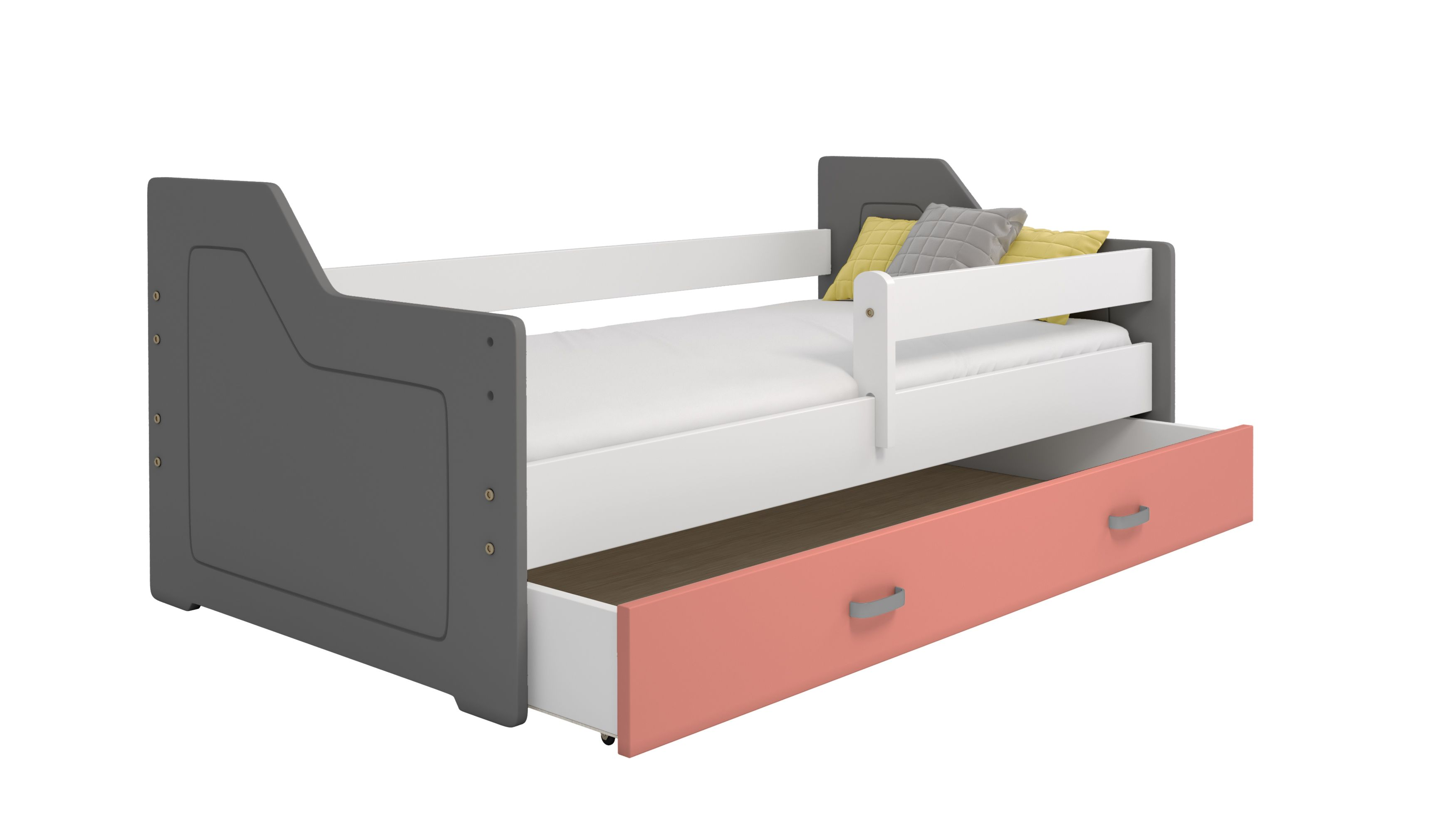 Das Bett Miki B4 160x80 Bietet Vollkommene Entspannung Und Komfort Bett Jugendbett Kinderbett Kinderbett Kleinkinderbett Und Bett Ideen