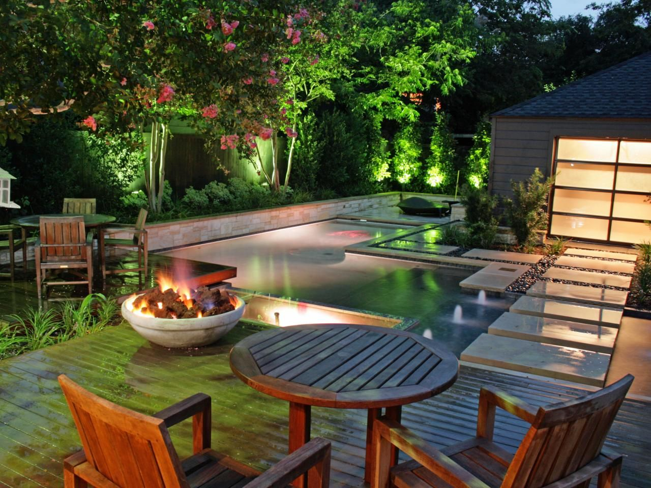 10 Beautiful Backyard Designs Outdoor spaces Hgtv and Decking