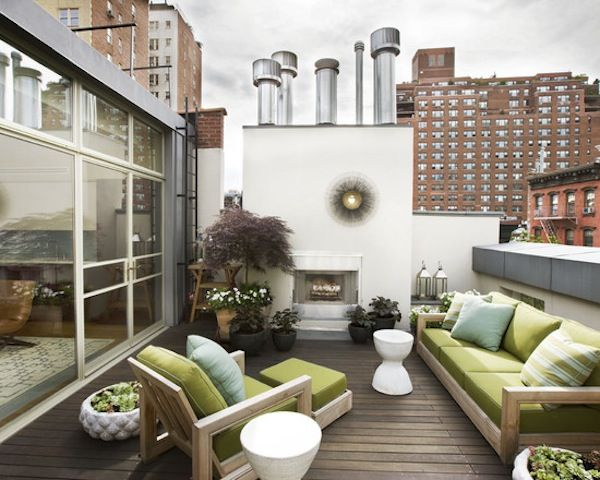 Superb Modern Design | Outdoor Patio | Green Patio Furniture | Rooftop Terrace | Outdoor  Patios | Idea Apartment Patio Furniture