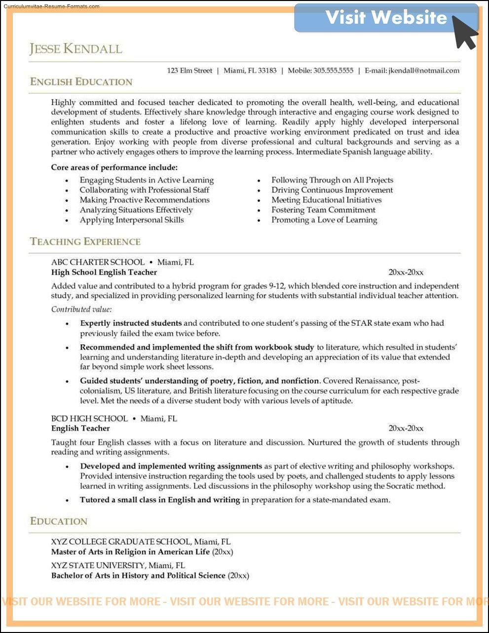sample middle school teacher cover letter in 2020